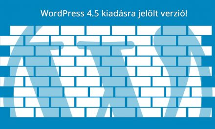 WordPress 4.5 RC