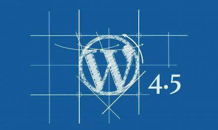 Helló WordPress 4.5, jó hogy jöttél!