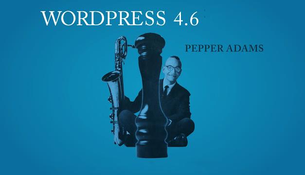 WordPress 4.6 a legfrissebb verzió