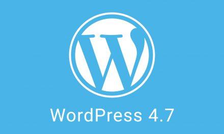 Itt a WordPress 4.7.1 hibajavító csomag