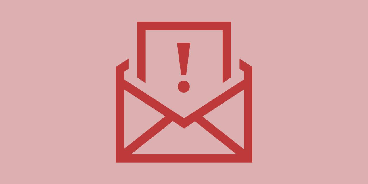 Miért nem küld ki email-eket a honlapunk?