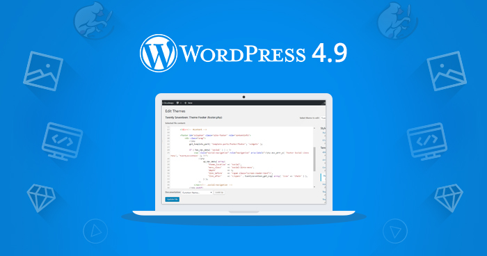 """Itt a WordPress 4.9, fedőnevén """"Tipton"""""""