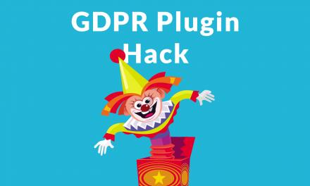 Feltörtek, nem jön be az admin sem: WP GDPR Compilance