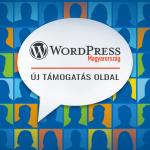 Új magyar WordPress Támogatás oldal indult