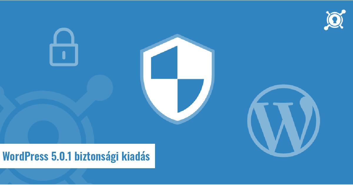WordPress 5.0.1 biztonsági kiadás