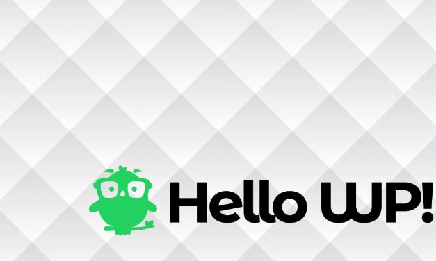 Új oldal indult: HelloWP!