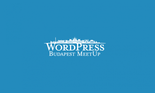 Nézd meg online az idei első WordPress MeetUp előadásait